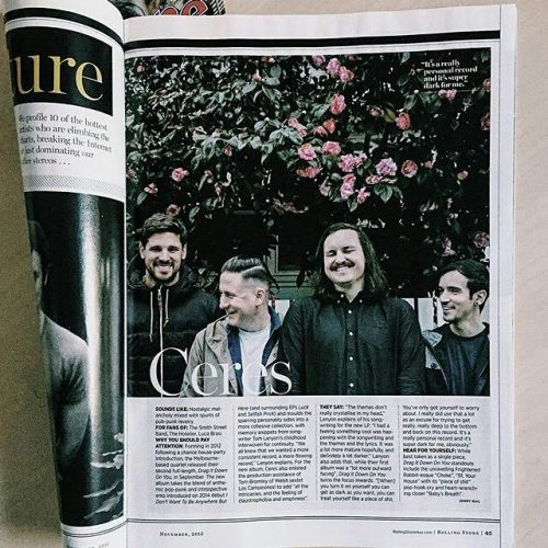 #Repost @weareceres Get onto it gang! ・ ・ ・ Look mum! We're in @rollingstoneaus! @jimmybarnesofficial is on the cover! Our @northcotesocialclub show is soooooo close to selling out! Please be proud of me, mum.  #dragitdownonyou