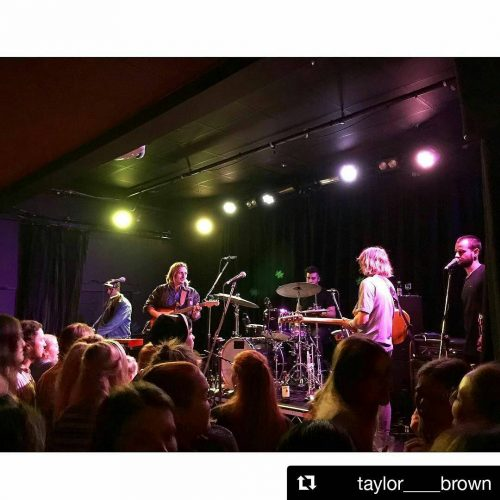 #Repost @taylor____brown Got our zesty groove on with Lime Cordiale last night! ・ ・ ・ Lime Cordiale🍋🎼 working up an absolute sweat with some funky tunes #limecordiale #northcotesocialclub #melbourne #live #music #love