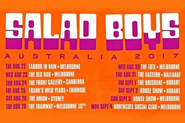 'Wind It Up' WITH SALAD BOYS (NZ) / SWIM TEAM / MAUREEN / BLOODY HELL