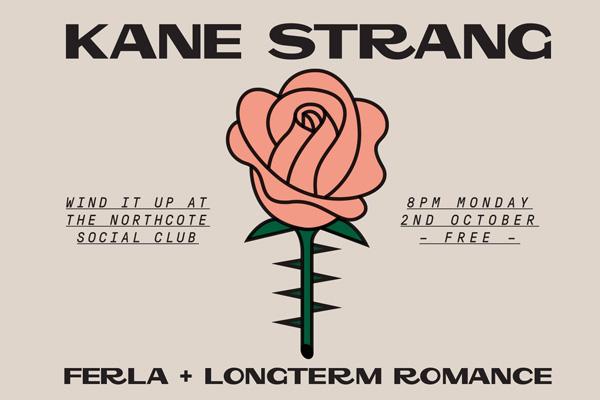'Wind It Up' WITH KANE STRANG(NZ) / FERLA / LONGTERM ROMANCE