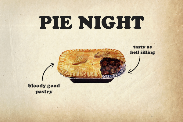 PIE NIGHT @ THE NSC