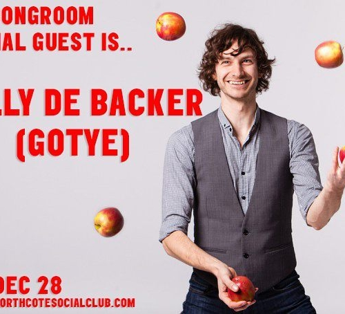 We've got somebody that we used to know coming in on December 28th.. Wally DeBacker (Gotye) will be joining The Basics and Monty Cotton for the final Song Room session at the end of this month! Tickets on sale now via northcotesocialclub.com  #gotye #livemusic #melbourne