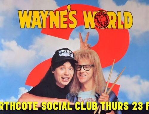 Things aren't as bad as they seem.. we're now screening Wayne's World 2 in the bandroom as well! #excellent  For more info + for tickets click here: http://bit.ly/2ljg002