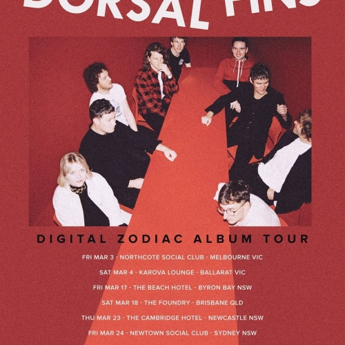 Dorsal Fins are getting set to move and groove their way through a night of indie-pop gems when they launch their latest album 'Digital Zodiac' here on Fri 3 March. Tix on sale now via http://ow.ly/C9sR308YEqB  #livemusic #melbournemusic
