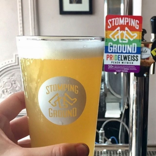 Beyond stoked to have been pouring this beauty over the last few months and now the results are in! Stomping Ground's #PRIDElweiss beer managed to raise $8,375 across VIC/NSC for the Midsumma Futures mentoring programme for LGBTQI+ artists. You bloody ripper. 📷: @stompinggroundbrewingco