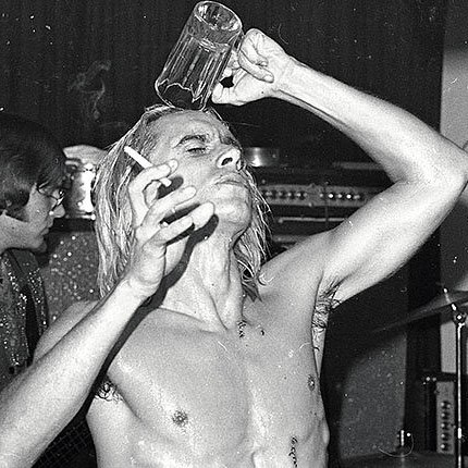 Channelling our inner Iggy this weekend. Lust For Life? More like Lust For Friday night bevs 🍻  #iggypop #bevs #getitinya