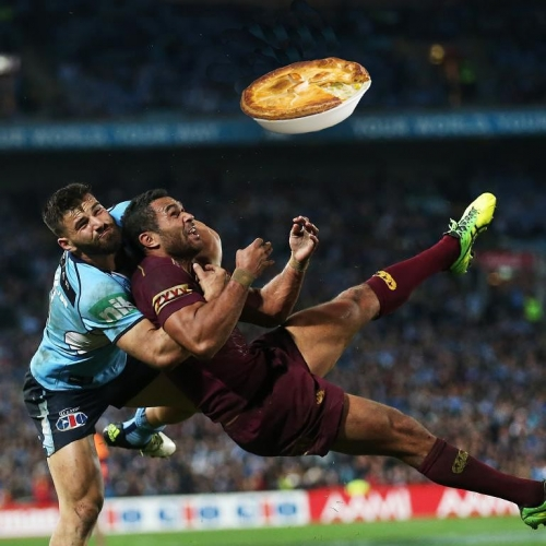 Like a bit of league? Don't mind yourself a good pie? What a coincidence! We're screening State Of Origin game two throughout the pub this Wednesday night which just so happens to also be pie night. Beauty. . . . . . #footy #origin #pies #beer