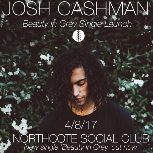 JUST ANNOUNCED: Josh Cashman will be celebrating the release of his latest soul-filled indie tune 'Beauty In Grey' here on Fri 4 August! Tickets on sale now via nortcotesocialclub.com. . . . . . #northcotesocialclub #northcote #livemusic #music