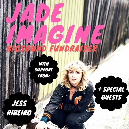 Jade Imagine is garn' to Bigsound and she needs your help to get there! Come and see her plus a whole bunch of rad rock'n'rollers here on Thurs 31 Aug and help get 'em up North.  Tix on sale now via the website - link in bio.