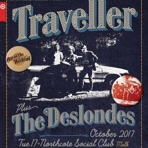 Jonny Fritz, Robert Ellis, and Cory Chisel have banded together, formed Traveller and are preparing to unleash some unreal alt-country on stage here on Tues 17 Oct!  Joined by New Orleans' The Deslondes and their catchy take on country-meets-r'n'b, tickets have just gone on sale! Grab yours now via our website - link in bio.