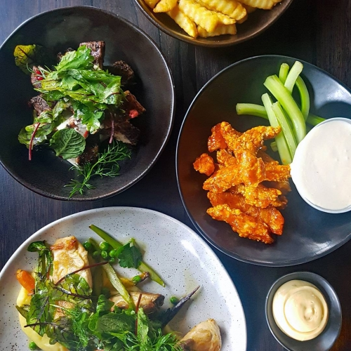 If the weather won't convince you that it's spring then our recently updated menu full of seasonal pub grub sure as hell will. Loads of chook, loads of lamb, loads of veggie options and.. chips. Always chips.