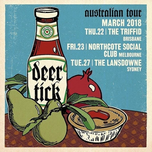 JUST ANNOUNCED: Hell-raising rockers Deer Tick will be stopping by for a belter of a Boogie sideshow this March!  Tickets for this one will ✈️, grab yours now ➡️ web link in bio.
