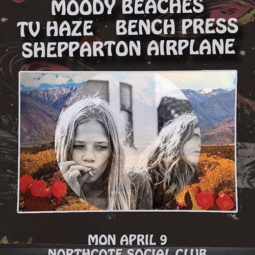 HUGE @mondaynightmass tonight! Get down early for this ripper w/ @moody_beaches, @sheppartonairplane, @benchpressband and @tvhaze #northcotesocialclub #mondaynightmass #northcote #livemusic