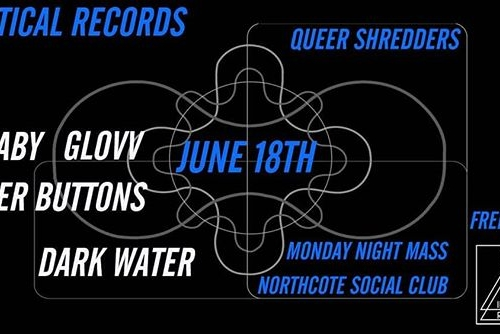 The amazing Identical Records have organised a Queer Shredders show for next week's Monday Night Mass! Beyond pumped for this one.