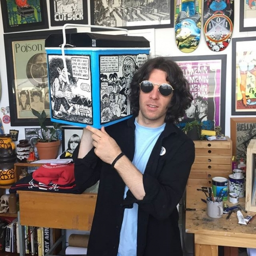 Local legend artist Steve Cohen from Too Far Gone who handprints everyone's band shirts in Melbourne will be selling some posters, t-shirts, tote bags & possibly now mugs from his personal collection at Record Affair! From midday Saturday 21st July throughout the pub.