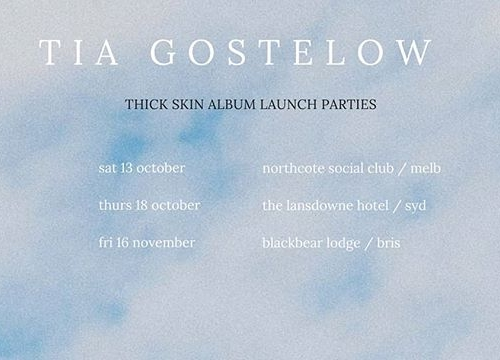 She's opened for the likes of Ball Park Music, San Cisco and The Rubens and now Tia Gostelow will be launching her highly anticipated debut album HERE this Oct. 😱