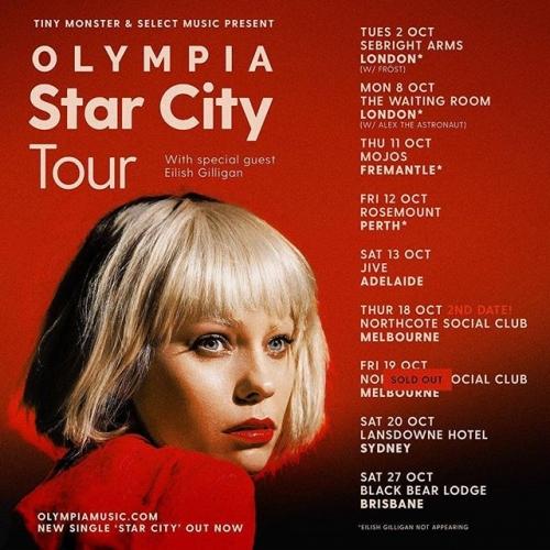 @olympiamusic second show added by popular demand! Run don't walk, tix on sale now via northcotesocialclub.com. 🏃♀️