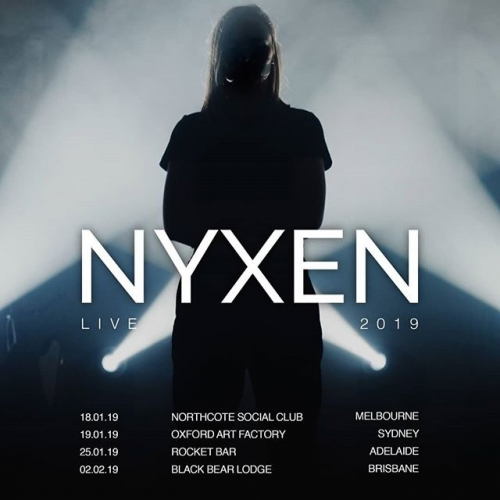 JUST ANNOUNCED: Triple J fave and emerging electro-pop dynamo Nyxen is NSC bound this Jan! Tickets well on the move, snap yours up now via the link in bio.