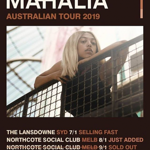 JUST ANNOUNCED: British soul-pop sensation @mahalia second show due to popular demand! Don't snooze and lose, tix selling fast via northcotesocialclub.com