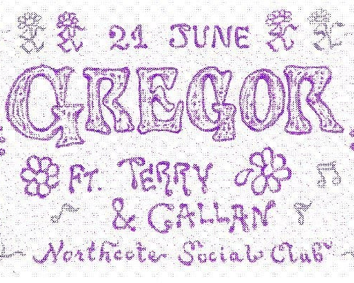 JUST ANNOUNCED: Melbourne pop eccentric Gregor will be performing with an eight piece band, including strings and marimba, here this June!  With massive supports too, tix on sale now via northcotesocialclub.com.