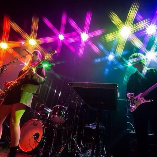 All of the lights, all of the awesome. Thanks for a fangin' Friday night @hihatchie! 📸 @josh.braybrook