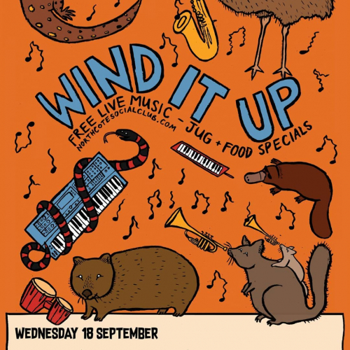 Mid-week shindig Wind It Up is back tonight with a stellar line-up of soul-lounge-house-jam goodness courtesy of @kitchenevents.  Free entry from 8pm, pie specials in the pub all night.