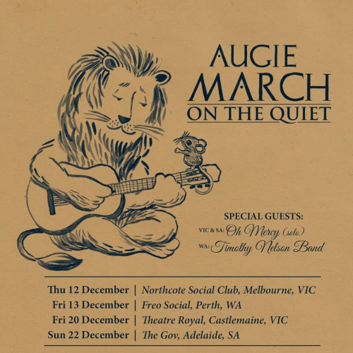 GEAR UP FOR (approx) ONE CROWDED HOUR  @augiemarchmusic just announced! Playing here this Dec, tickets → northcotesocialclub.com