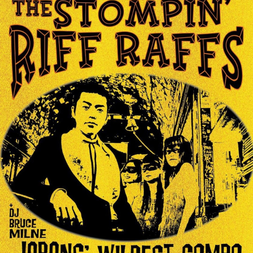 No Meredith? No problem. Japanese rock'n'rollers @stompinriffraffs will have you shakin' yourself silly in the bandroom this Saturday night! 💃  Tix → northcotesocialclub.com