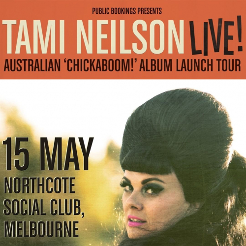Calling all Americana music fans! We're thrilled to be hosting the one and only @tamineilsonmusic this May as she celebrates the release of her latest rockabilly riot of a record. 🤠  Want in? Tickets → northcotesocialclub.com.